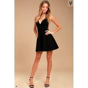 Lulu's Believe in Love Backless Mini Dress
